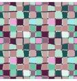 Seamless geometric mosaic pattern Rectangles vector image