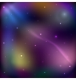 Stars in outer space space background vector image