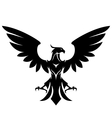 stylized eagle vector image