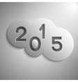 abstract circles for the New Year 2015 vector image vector image