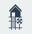 lifeguard stations iconbeach house logo