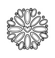 mexican decoration floral celebration festive vector image vector image