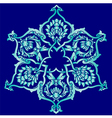 nineteen series designed from the ottoman pattern vector image