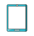 tablet blank screen mobile computer technology vector image vector image