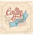 Coffeeshop vector image