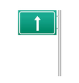 A view of a sign vector image vector image