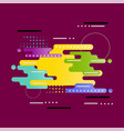 abstract is modern vector image vector image