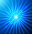 Bright space star vector image vector image