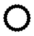 Circle seal emblem icon