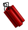 dynamite icon cartoon style vector image