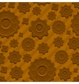 Gears pattern vector image