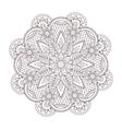 henna paisley tattoo mandala mehndi style vector image