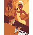 jazz concert vector image vector image