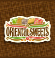 logo for oriental sweets