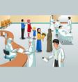 Muslim hospital scene