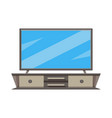 tv screen cabinet icon imagecan also be used for vector image vector image