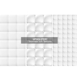 White upholstery textures Seamless vector image vector image