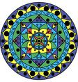 Mandala Multicolored vector image