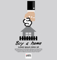 Buying Home Concept EPS10 vector image vector image