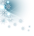 Christmas background with snowflakes vector | Price: 1 Credit (USD $1)
