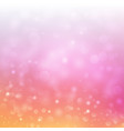 festive bokeh background with blurred defocused vector image vector image