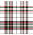 green ane red tartan plaid scottish pattern vector image