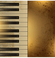 Piano vintage vector | Price: 1 Credit (USD $1)