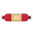 sausage icon image vector image vector image
