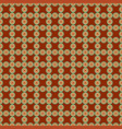 Seamless pattern with circles vector image