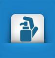 soap dispenser vector image