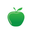 green apple icon logo image vector image