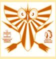 american indian logos vector image vector image