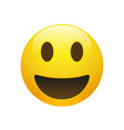 Emoji yellow smiley face