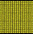 knitting seamless background yellow pattern vector image