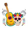 mexican culture cartoon vector image vector image