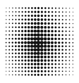 Pop Art style black dots or background vector image