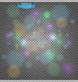 stock bokeh photo effect christmas light blurred vector image