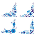 Traditional folk patterns vector image vector image