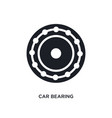car bearing isolated icon simple element from vector image vector image