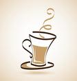 coffee design vector image