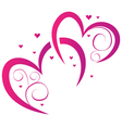 Elements for design for Valentines Day vector image