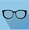 glasses icon elements for design vector image vector image