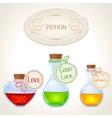 potion set vector image