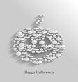 pumpkin flat vector image vector image