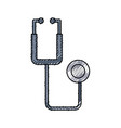 stethoscope medical isolated vector image