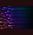 dark rainbow overlap pixel speed abstract vector image vector image