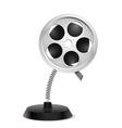 Film reel souvenir vector image vector image