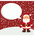 Santa Red Notes vector image vector image