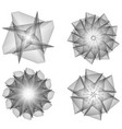 the cosmic object is a geometric fractal vector image