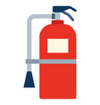 fire extinguisher boat safety kit icon flat vector image vector image